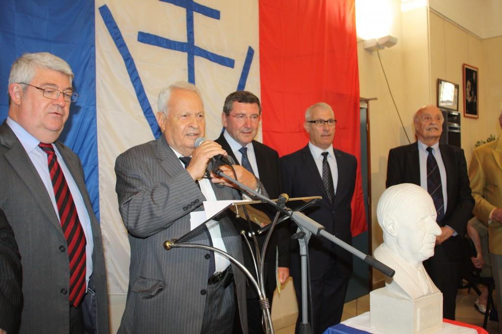 Discours du Président Louis FIORI